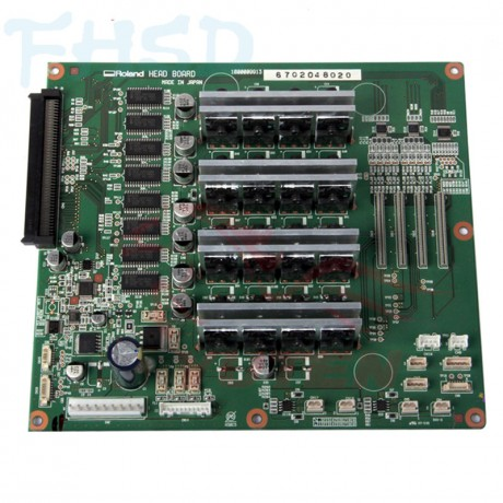 XF-640 assy, head board- 6702048020
