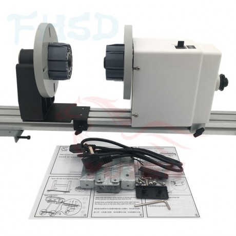 Take up system for Mutoh printer