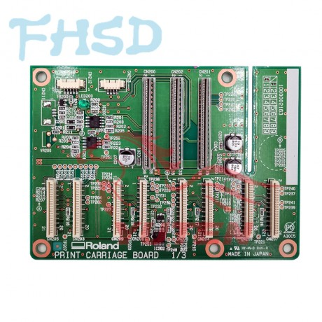 Original ROLAND VP-540/VP-540I/VP-300/VP-300I PRINT CARRIAGE BOARD-W700461110